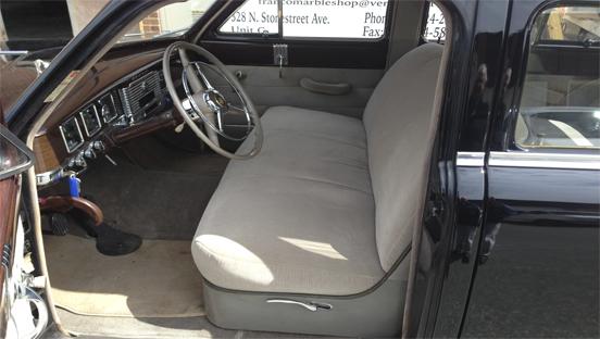 Antique seat
