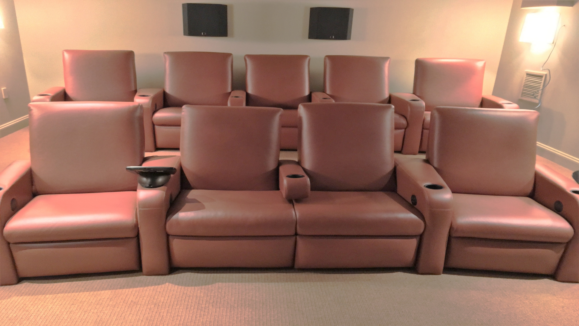Theater recliner chair