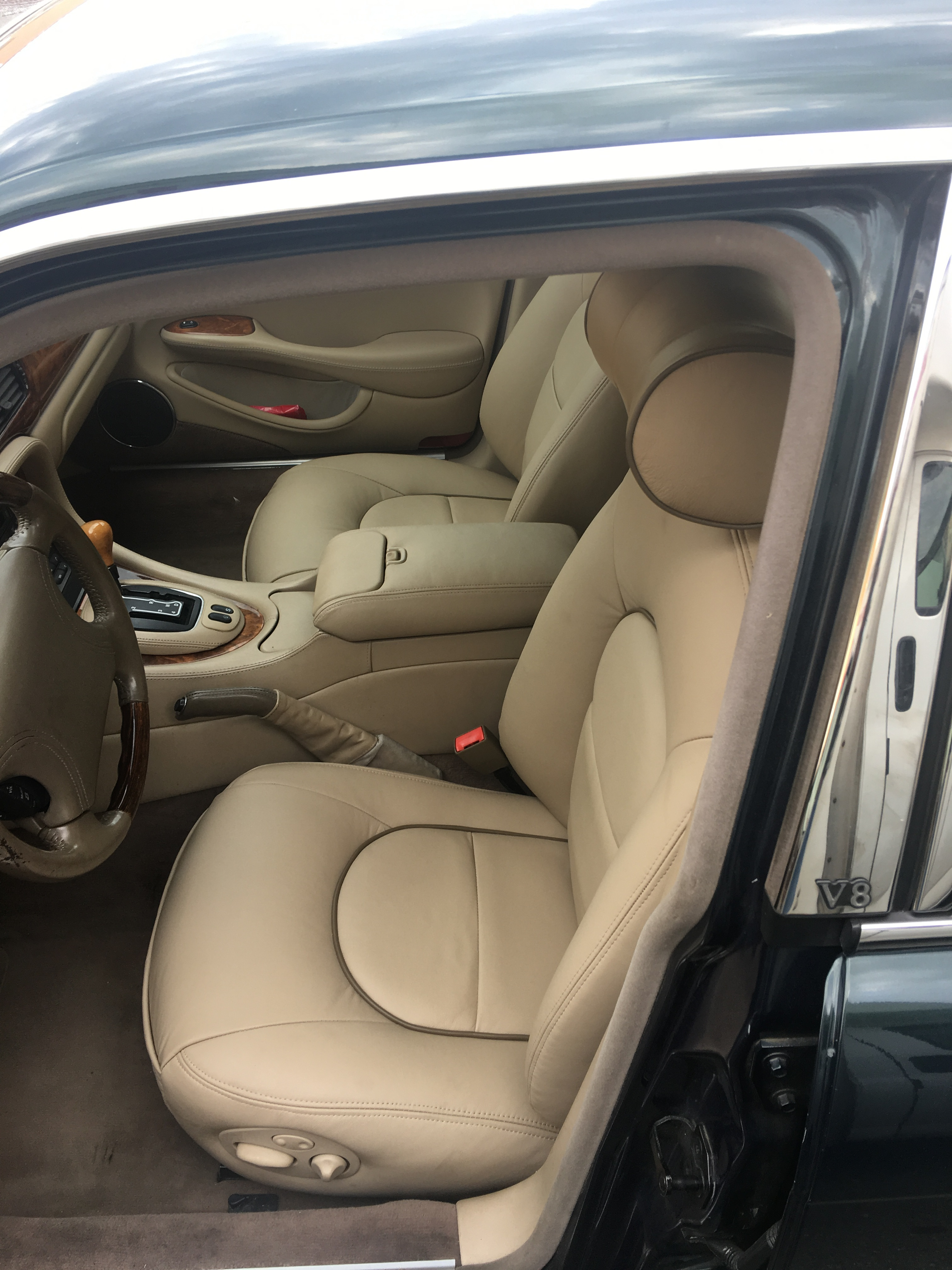 Jaguars Driver seat