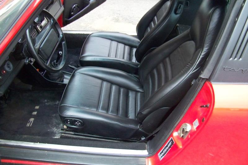Porshe Black seat