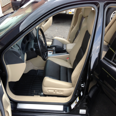 Acura TL front seat done over