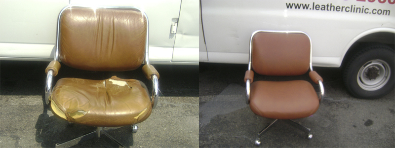 Office Chair before & after